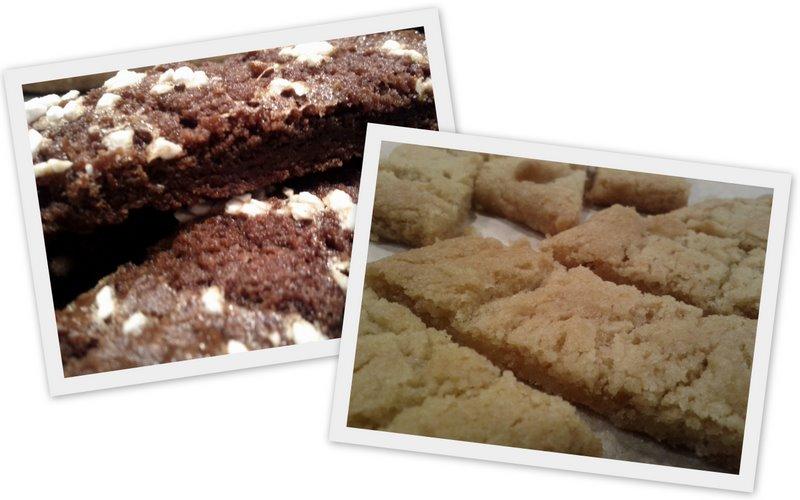 kolasnitt och chokladsnitt